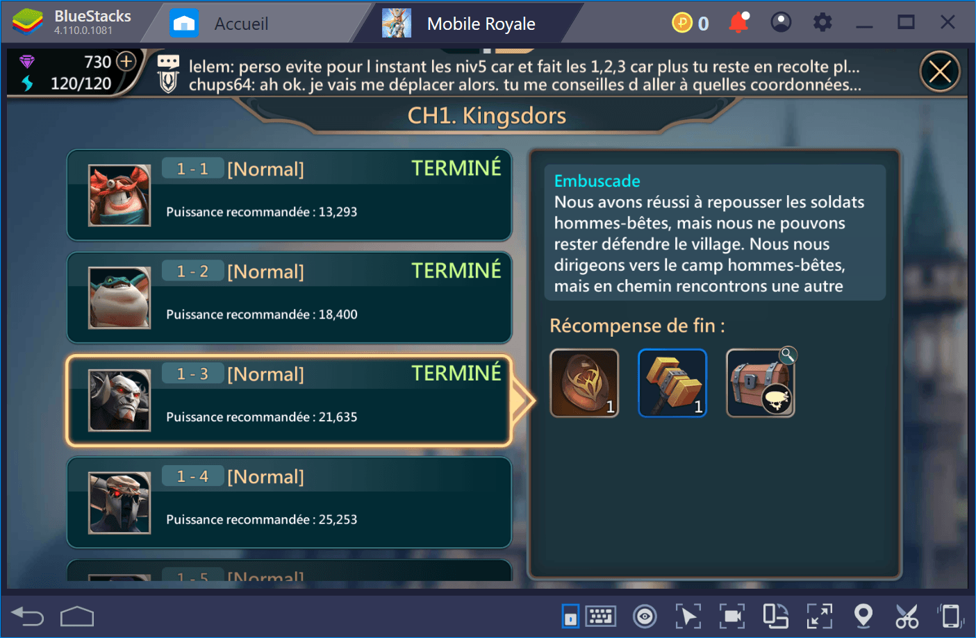 Jouez Mobile Royale sur BlueStacks