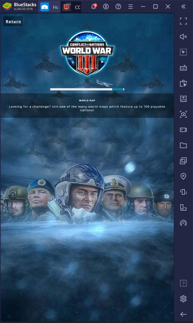 Conflict Of Nations: World War 3 Review – How to Install this Game on PC With BlueStacks