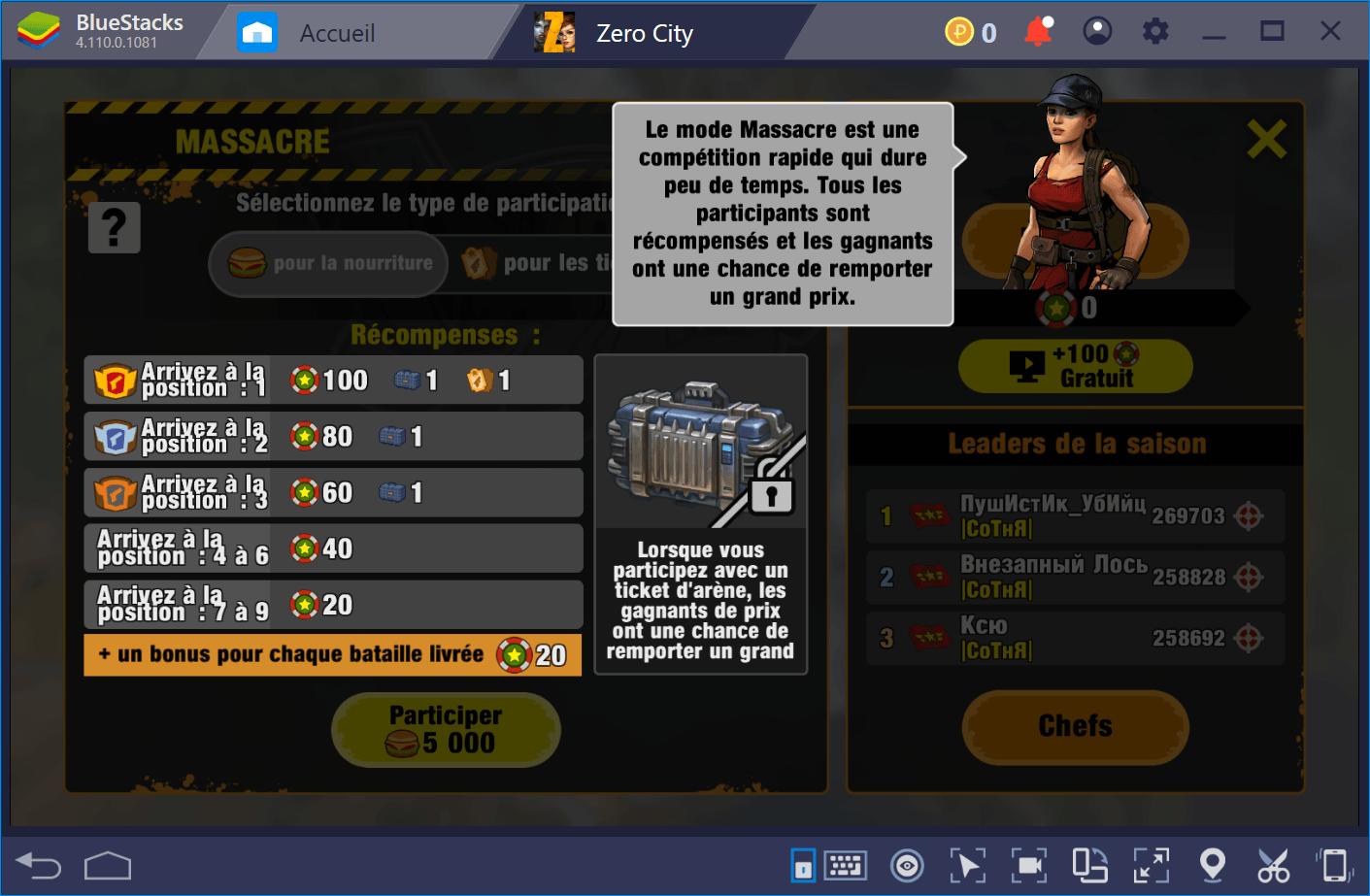 Construisez l'abri ultime et combattez la horde de zombies dans Zero City
