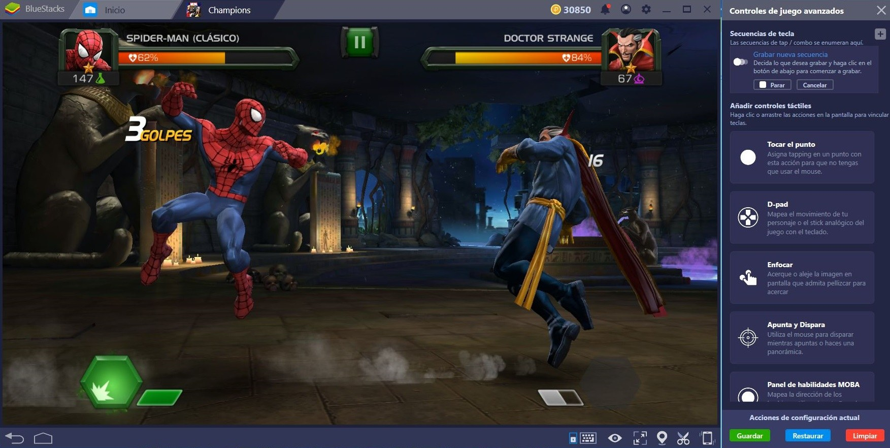 Demuestra tu Fuerza en Marvel Contest of Champions con BlueStacks 4