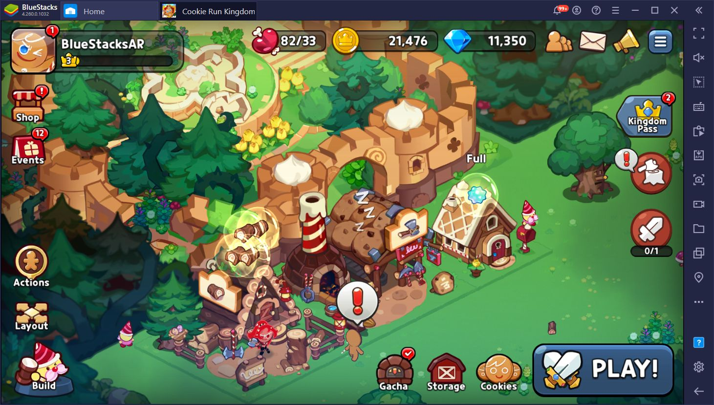Cookie Run: Kingdom on PC – How to Use BlueStacks' Tools to Build your Cookie Empire