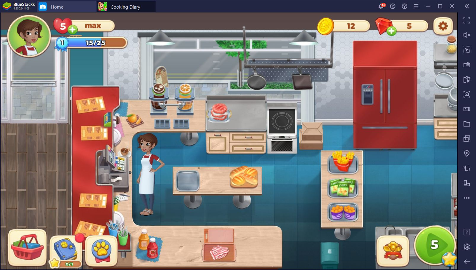 Cooking Diary on PC – How to Install and Play This Mobile Diner Game