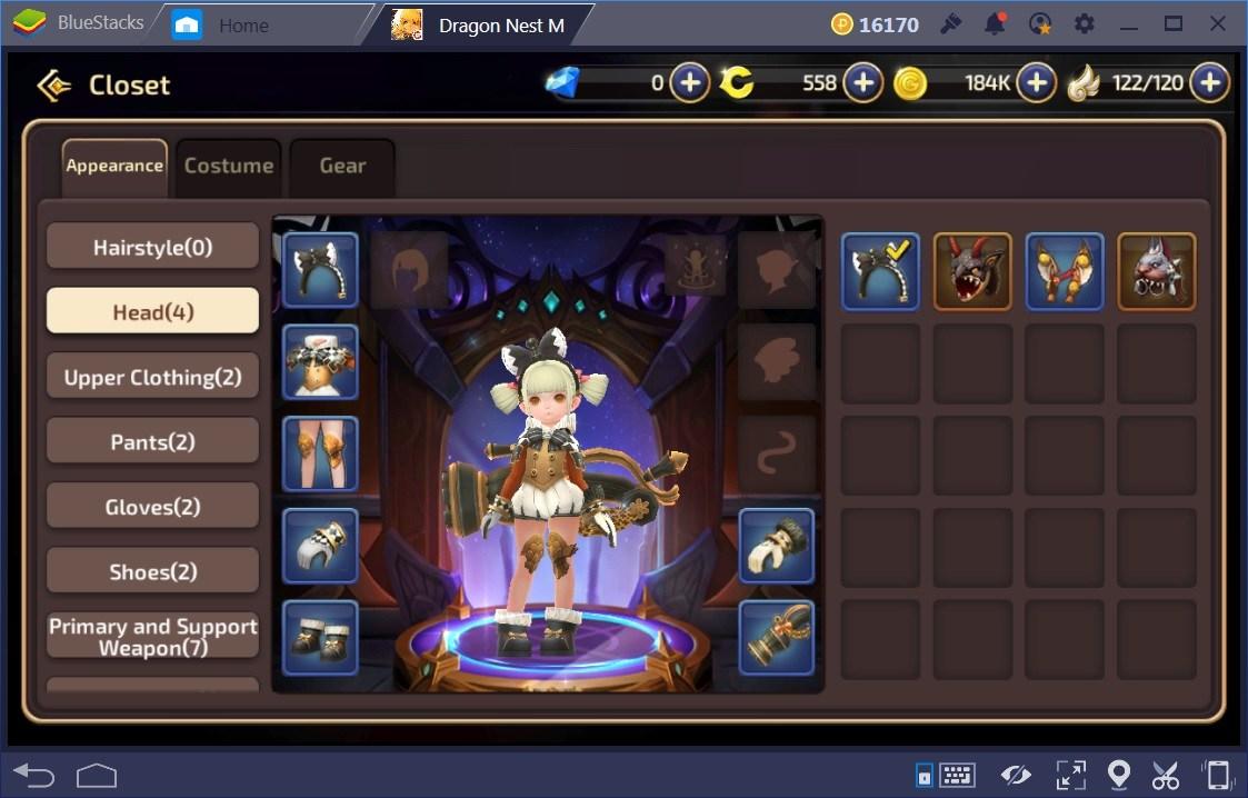 Dragon Nest M Battle Power Guide