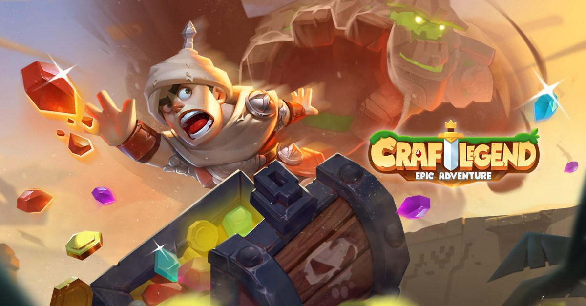 'Craft Legend: Epic Adventure', the New 2D Side-Scroller From the Creators of 'Lords Mobile'