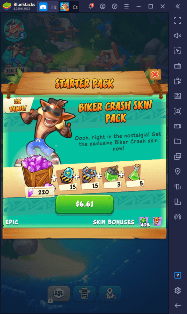 Crash Bandicoot: On the Run – أفضل الشخصيات في اللعبة