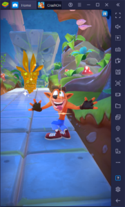 How to Use BlueStacks to Improve Your Performance With Crash Bandicoot: On the Run
