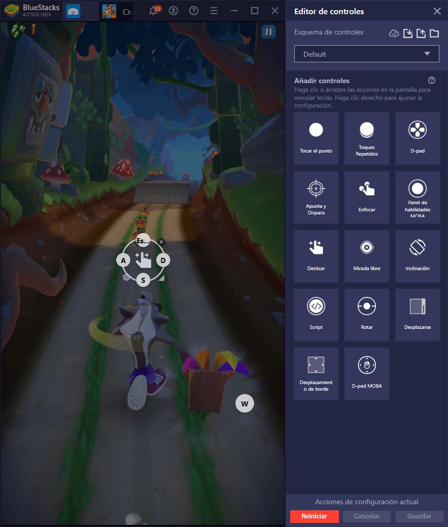 Cómo Usar BlueStacks Para Mejorar tu Experiencia con Crash Bandicoot: On the Run