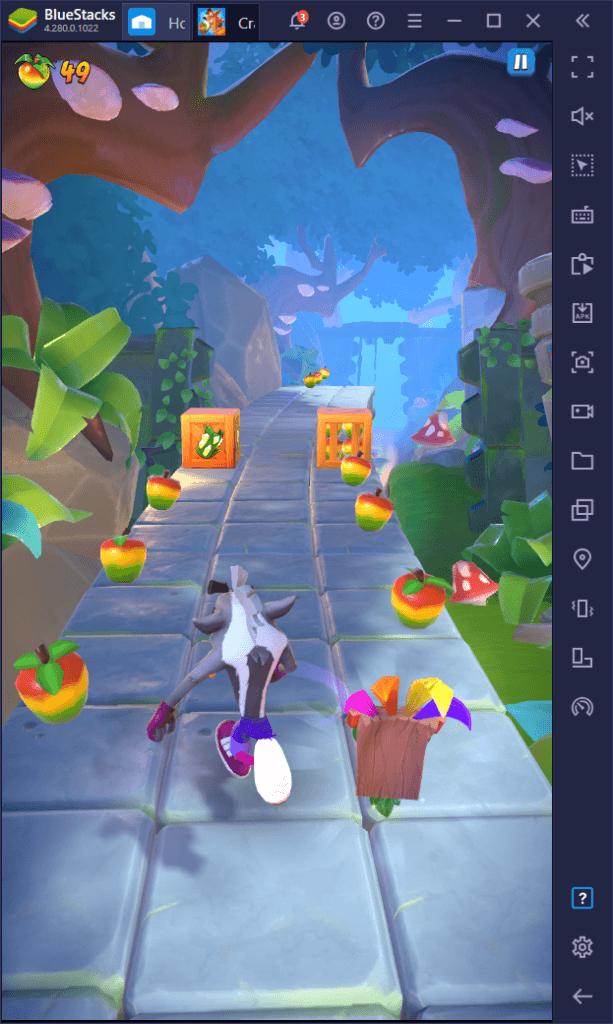 Crash Bandicoot: On the Run دليل سباق التجميع – قم بزيادة الزراعة إلى أقصى حد باستخدام هذه النصائح المفيدة