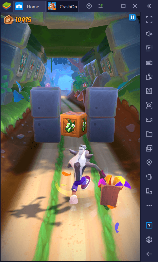 How to Play Crash Bandicoot: On the Run on PC with BlueStacks