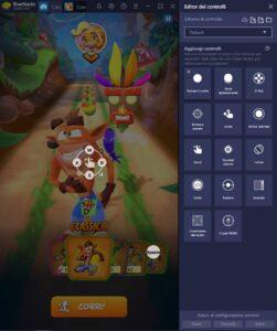 Come migliorare il gameplay di Crash Bandicoot: On the Run grazie agli strumenti di BlueStacks