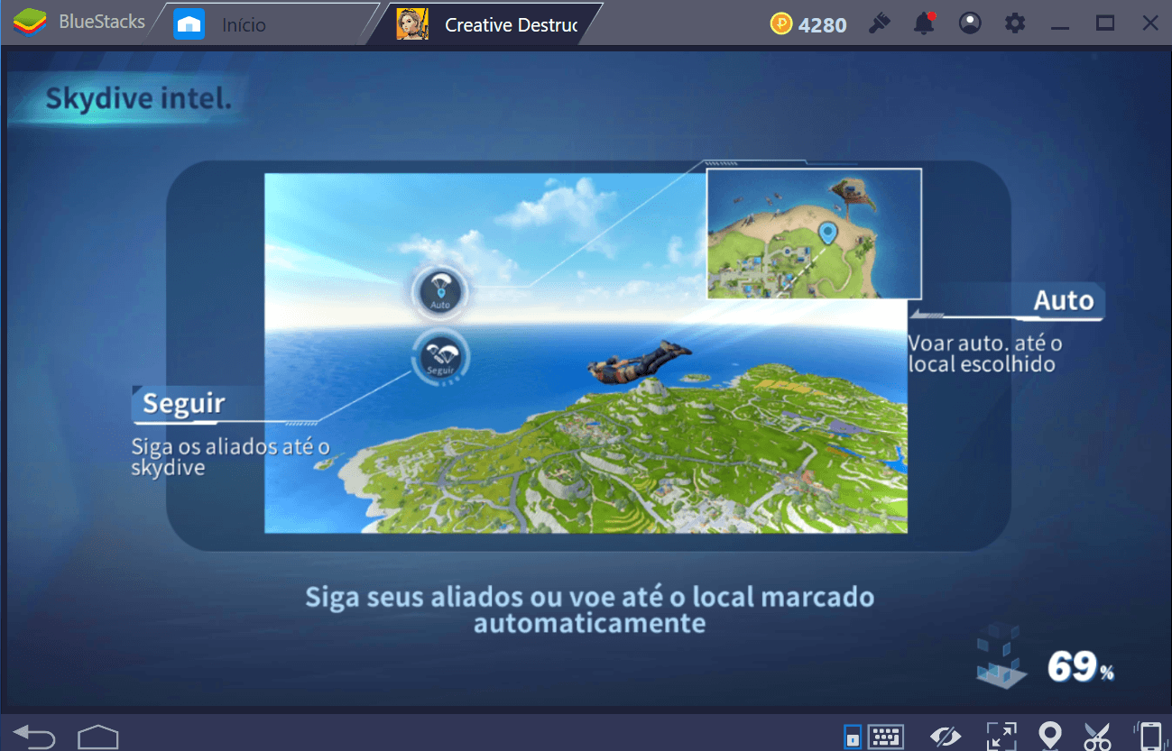Guia de aterrissagem para Creative Destruction