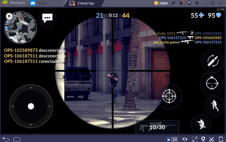 Modos de jogo em Critical Ops