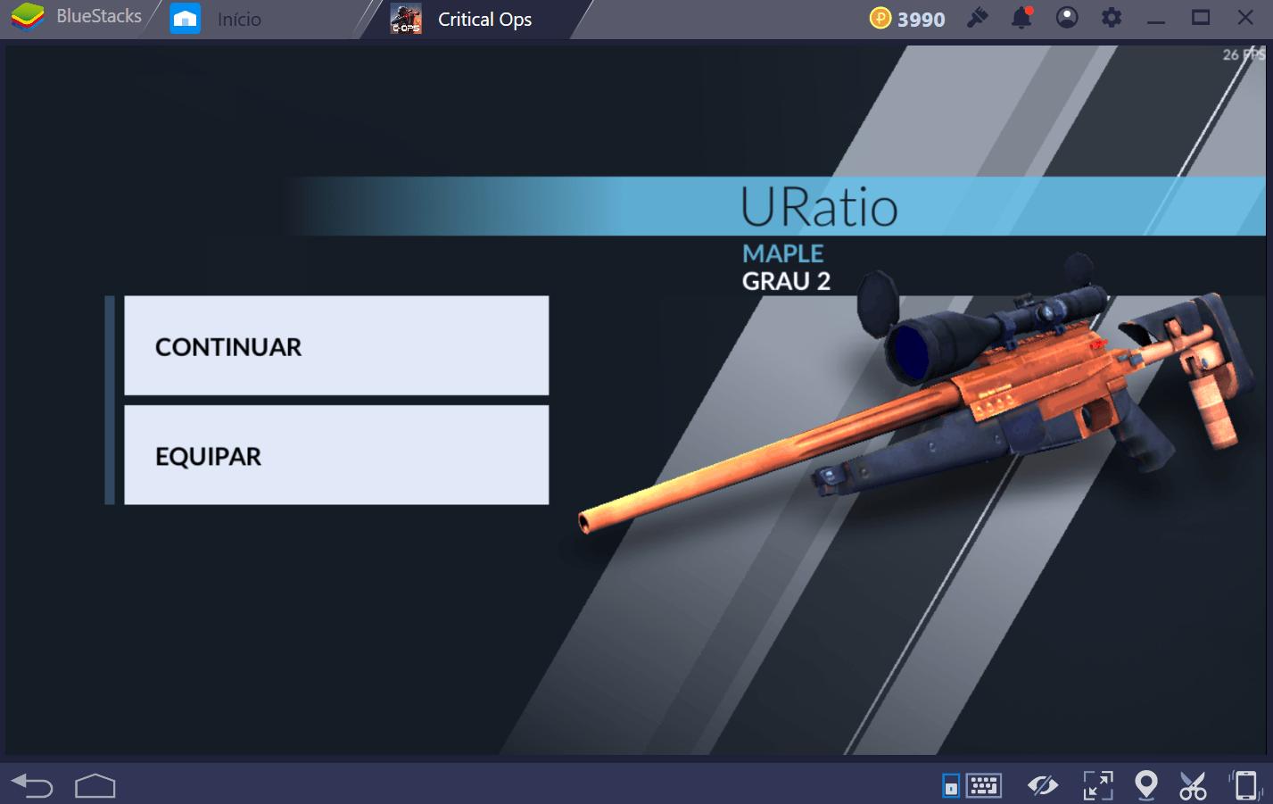 Guia para sniper em Critical Ops