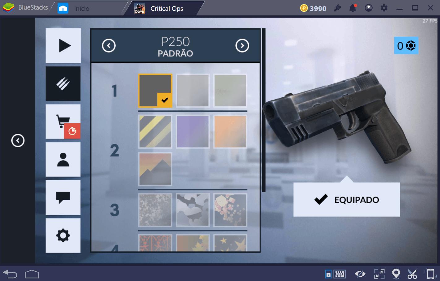 Guia de armas para Critical Ops