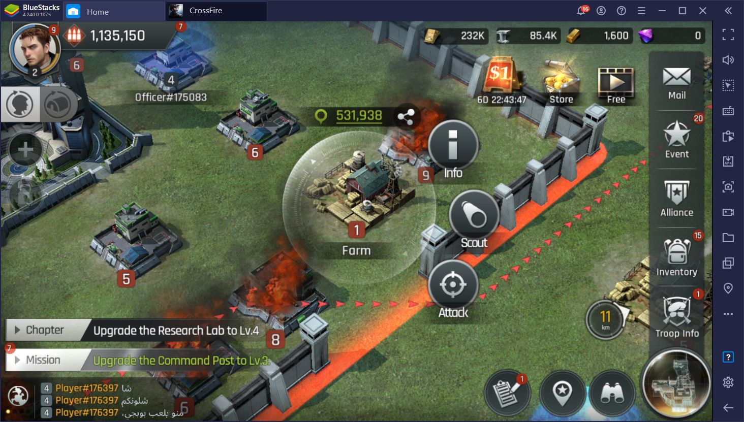 Crossfire: Warzone – Installing and Playing This Mobile Strategy Game on PC With BlueStacks