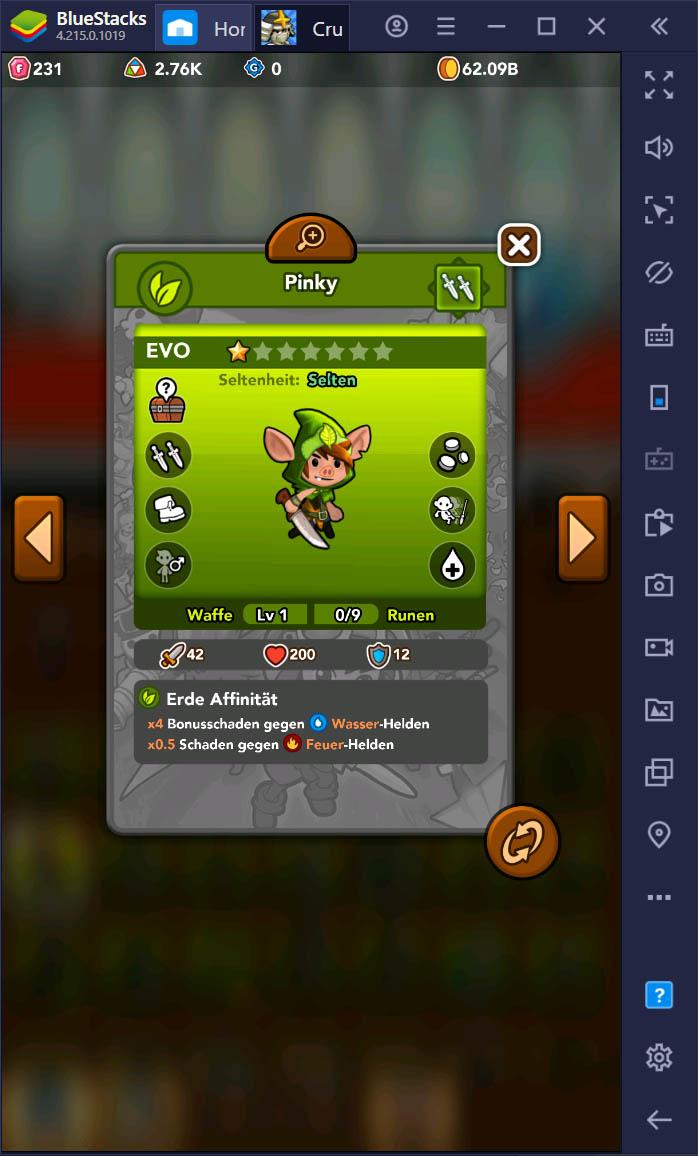 Crush Them All auf dem PC – So entsperrst und aktualisierst du die besten Helden in diesem Idle Game