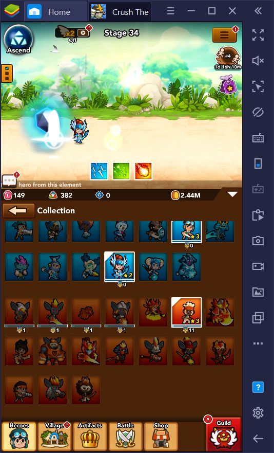 Crush Them All on PC - How to Unlock and Upgrade the Best Heroes in This Idle Game