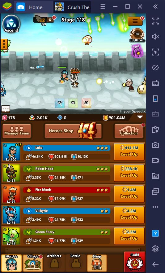 Crush Them All on PC - The Best Tips and Tricks for Winning at This Idle Game