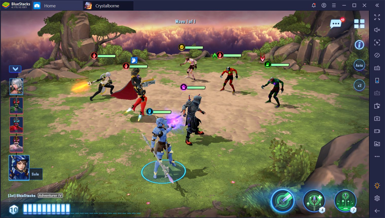 How to Win at Crystalborne: Heroes of Fate on PC with BlueStacks