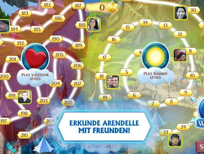 Spielen Frozen Free Fall on pc 6