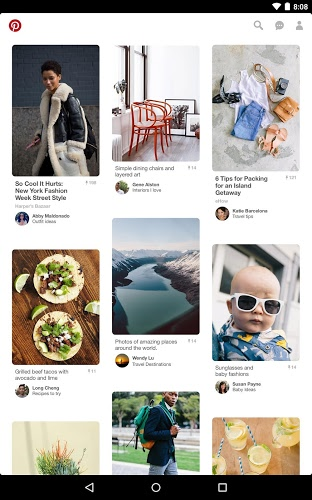 Main Pinterest on PC 9