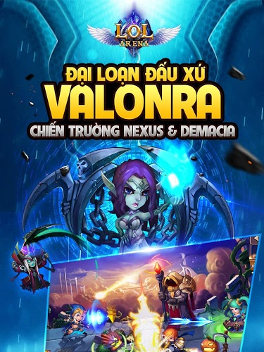 Chơi LoL Arena on pc 4
