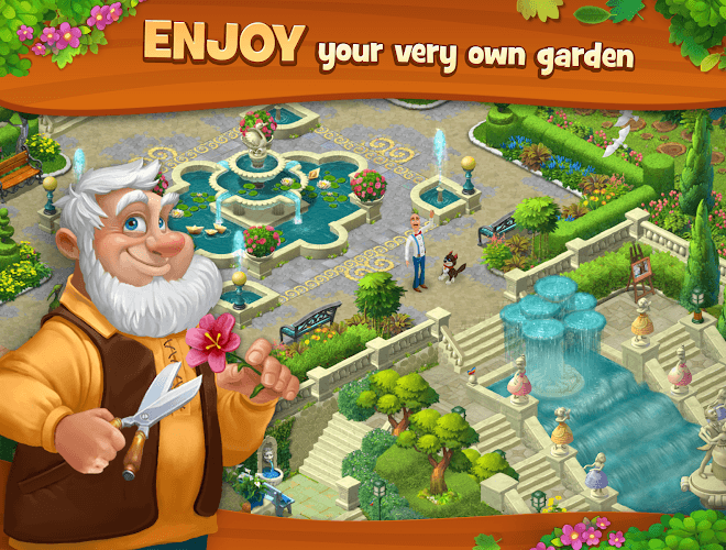 เล่น Gardenscapes on PC 11