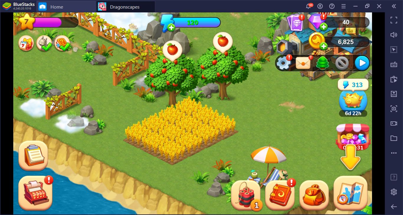 Installer Dragonscapes Adventure sur PC – Explorez les îles avec BlueStacks