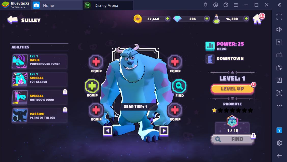 Disney Sorcerer's Arena: Meet your team