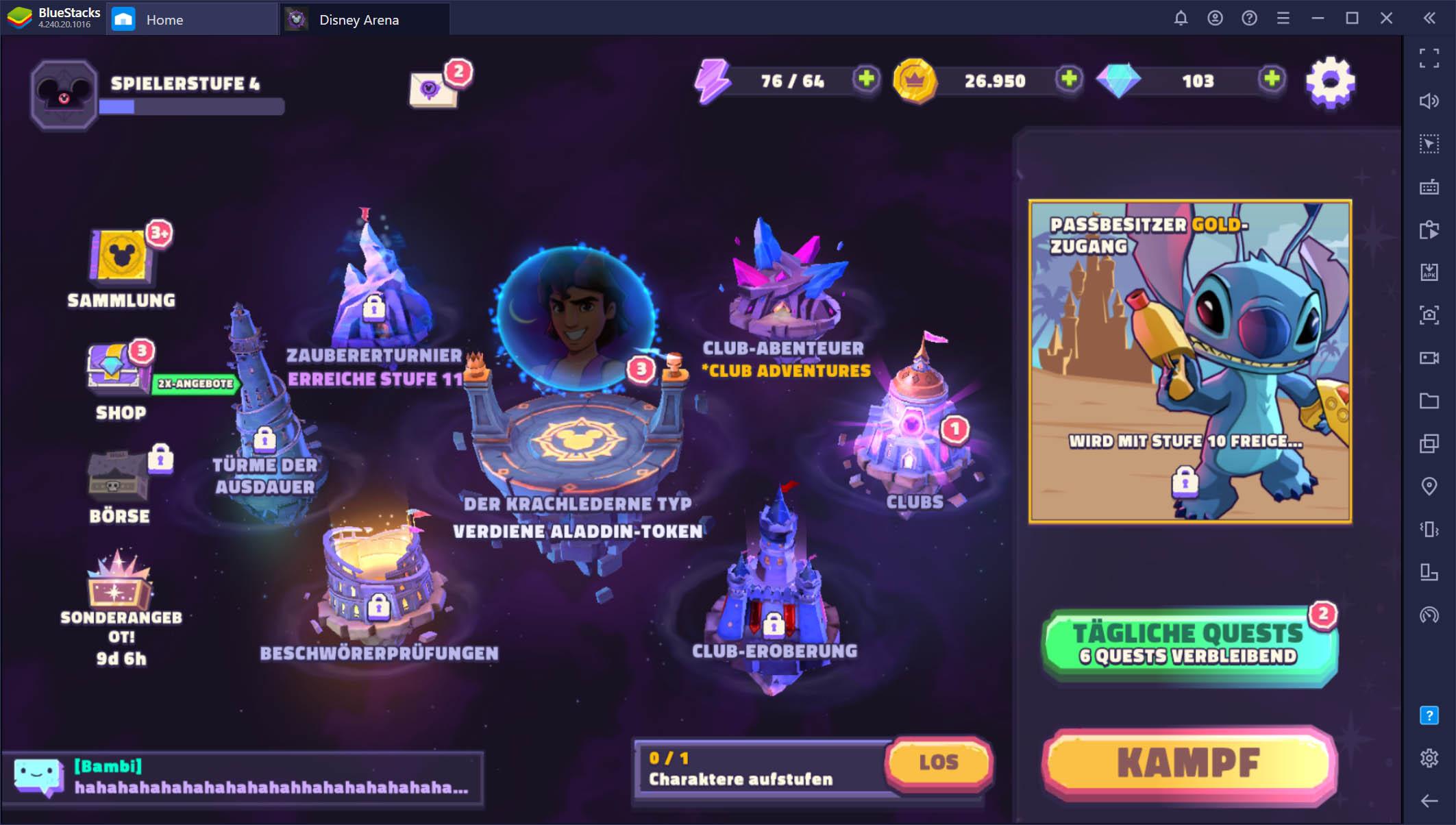 Disney Sorcerer's Arena – Betritt die Arena mit Stil