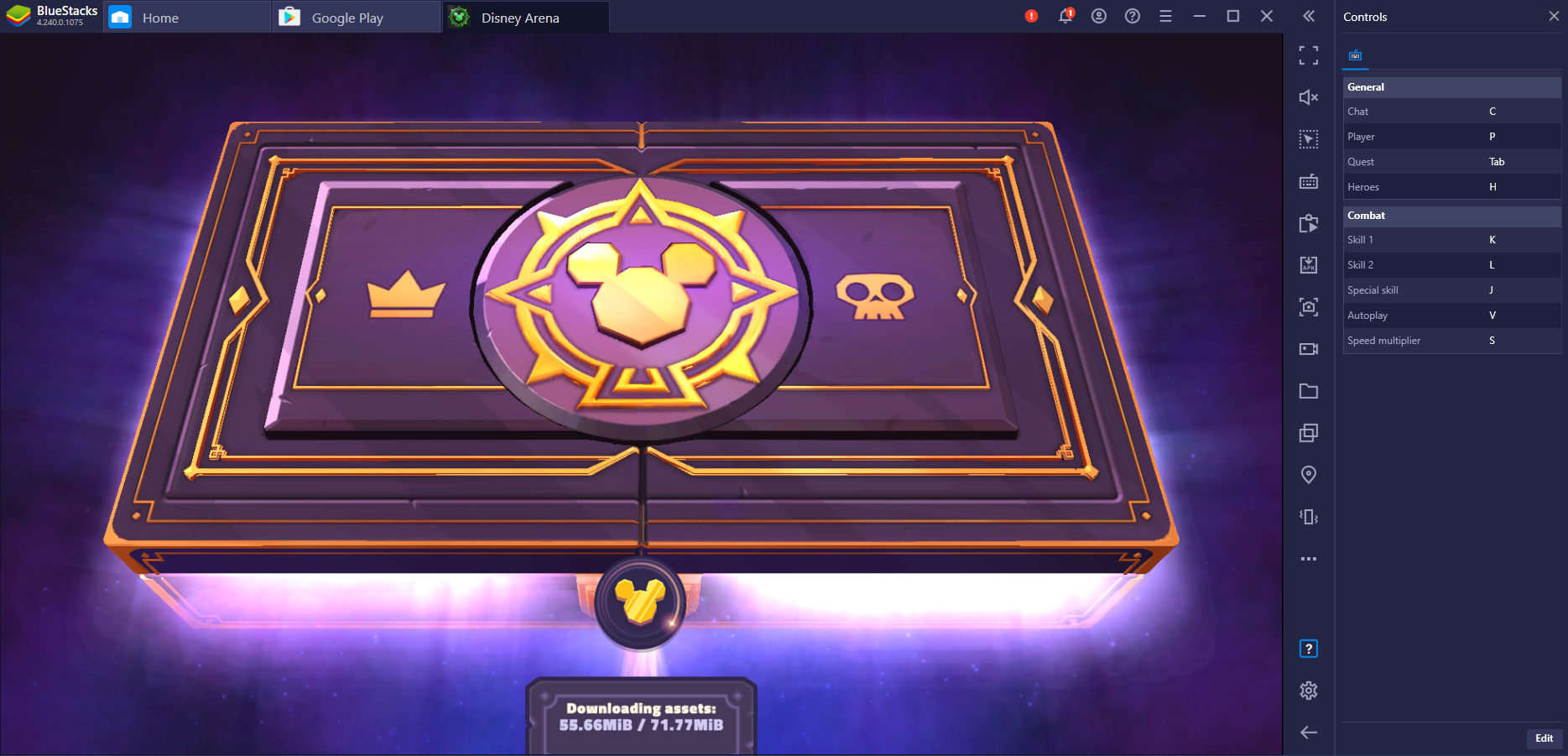 Introduction to Disney Sorcerer's Arena on PC