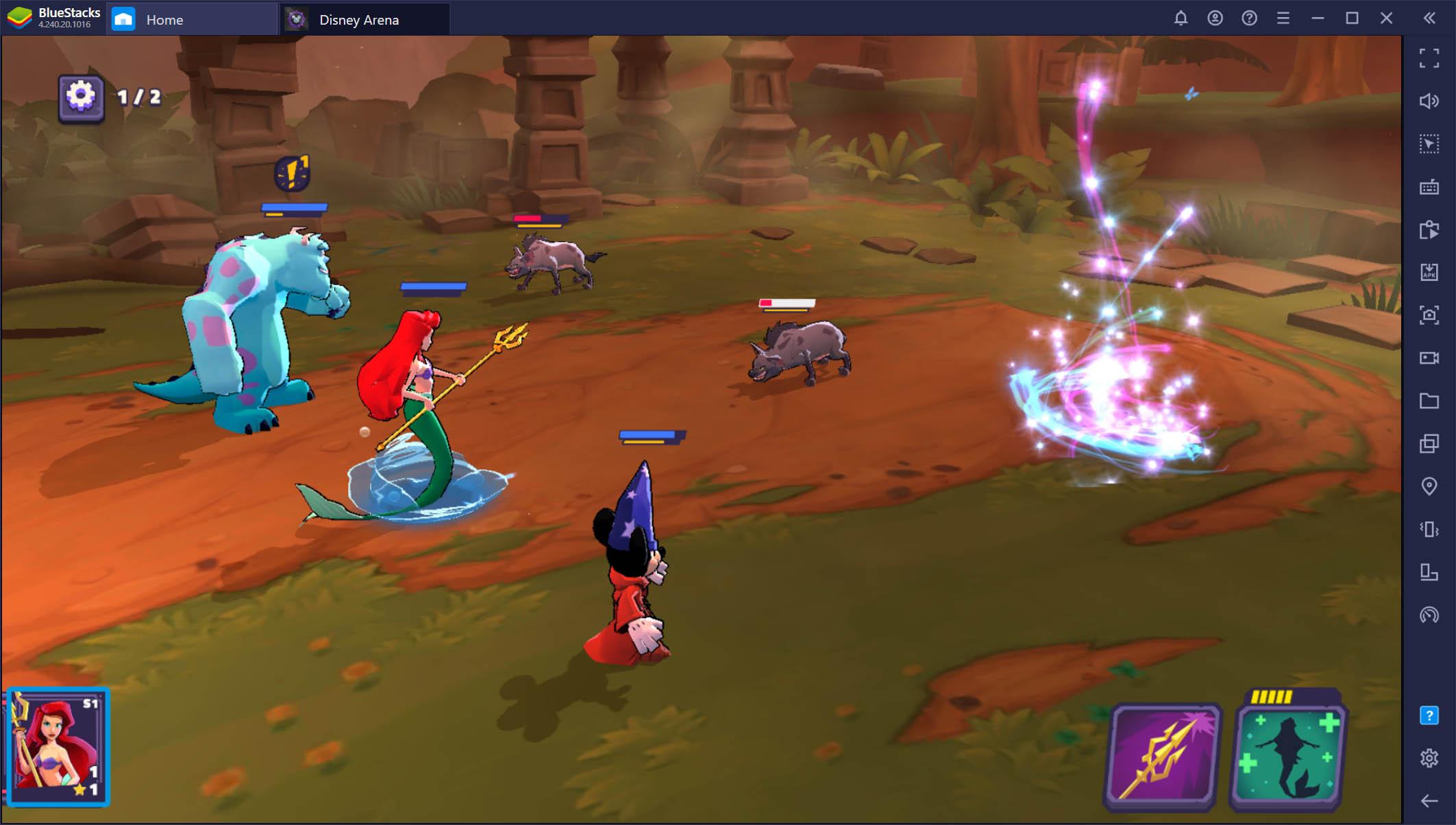 Disney Sorcerer's Arena – Spielen auf dem PC