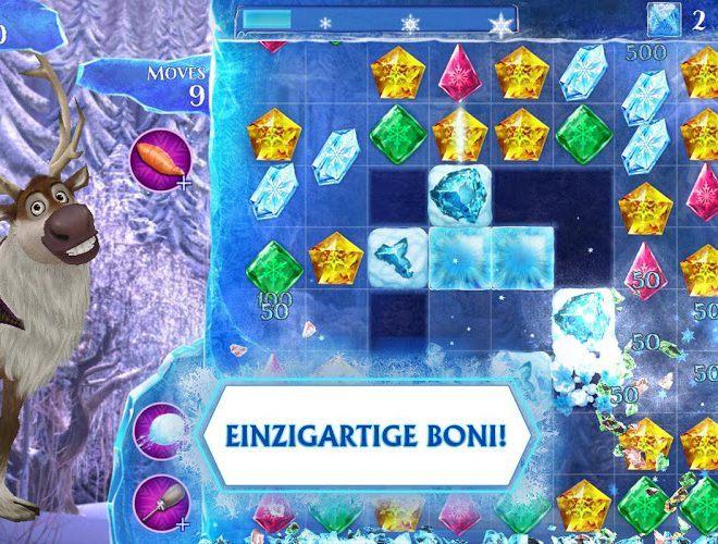 Spielen Frozen Free Fall on pc 5