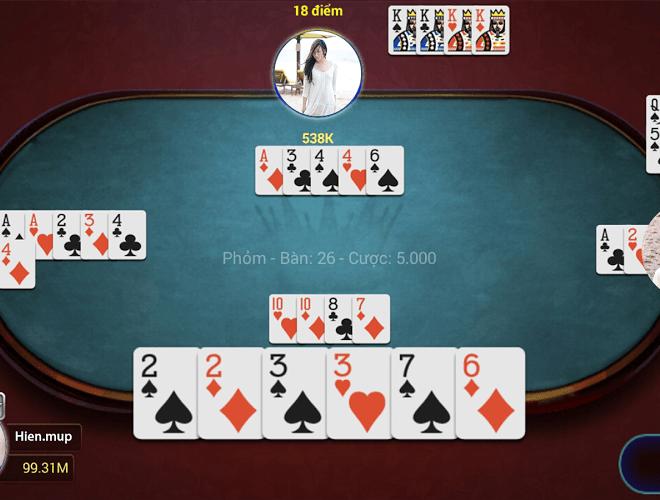 Chơi Game bai Online – Vua danh bai on PC 4