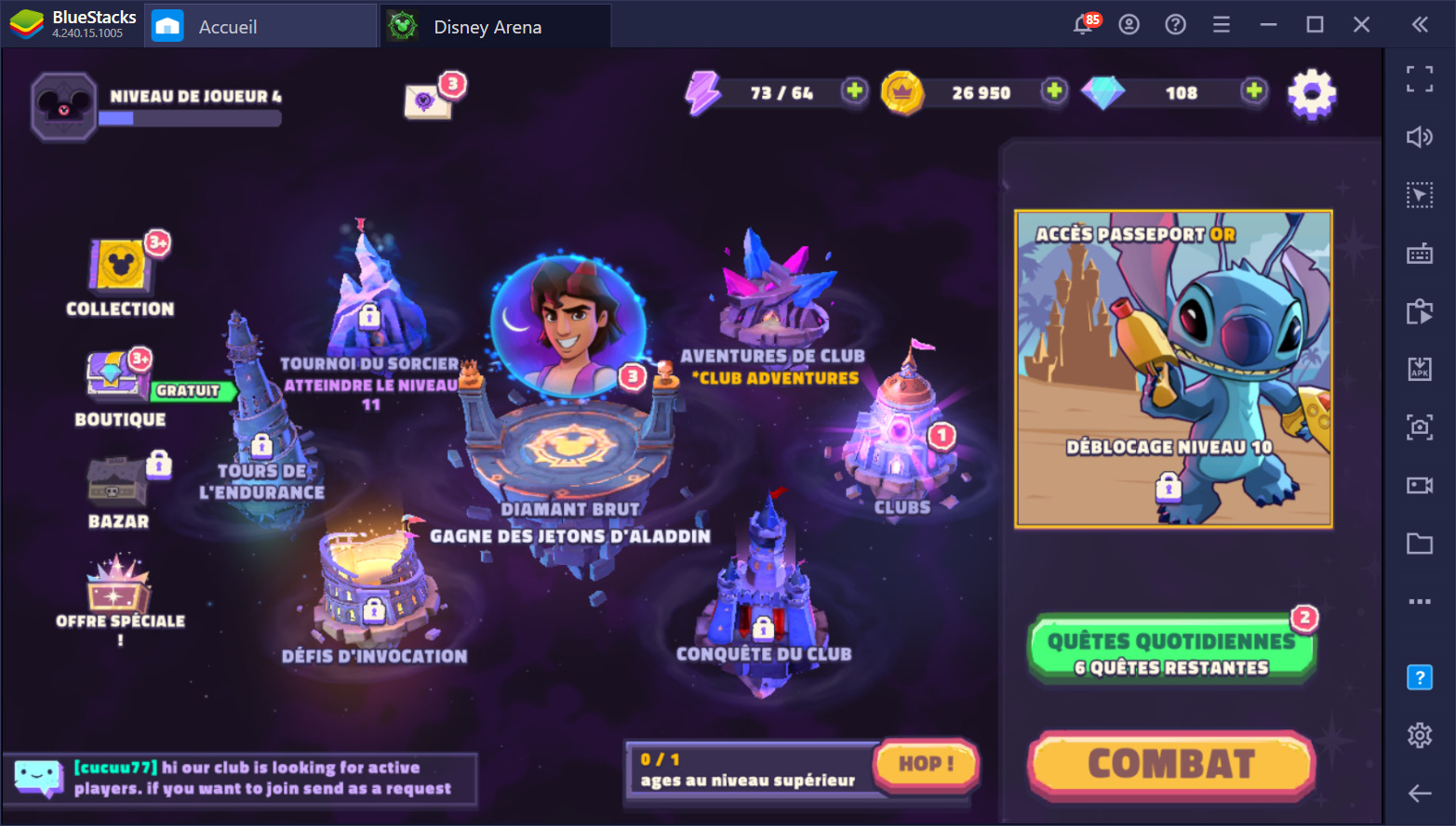 Disney Sorcerer's Arena – Entrer dans l'arène avec panache