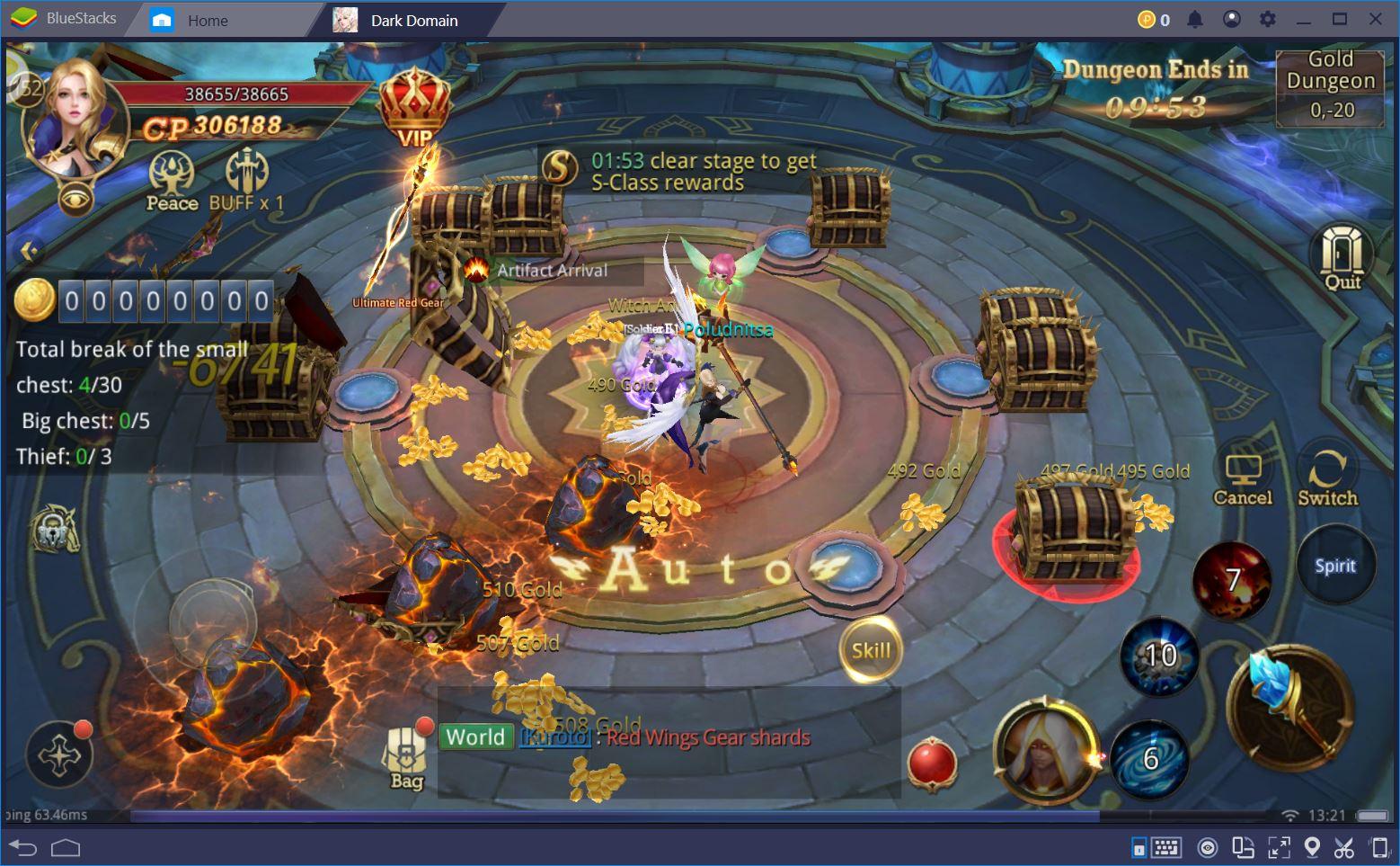 Dark Domain: Beat Every Dungeon, Raid, and World Boss