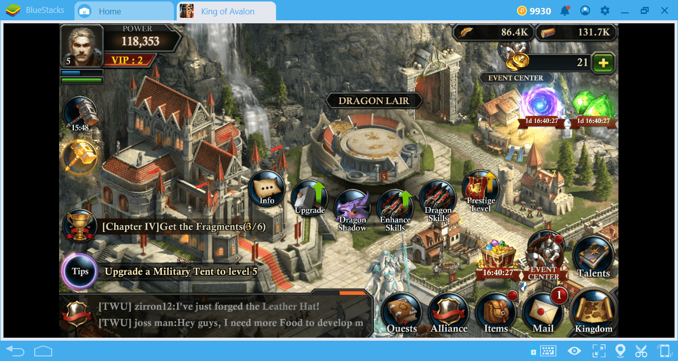 King of Avalon: How to Train your Dragon? | BlueStacks