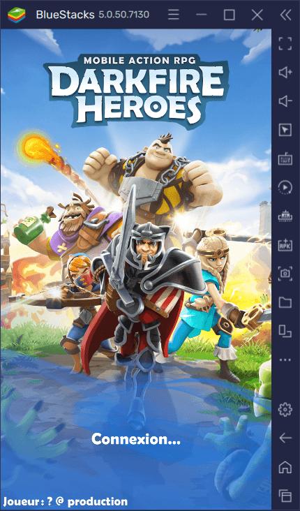 Darkfire Heroes – Comment jouer à ce superbe Gacha RPG sur son ordinateur