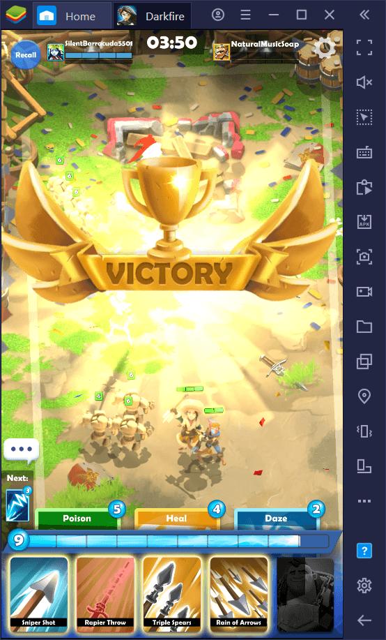 Darkfire Heroes – Die besten PvP-Strategien, Team-Formationen, und Tricks, um bei der Burgeroberung zu gewinnen
