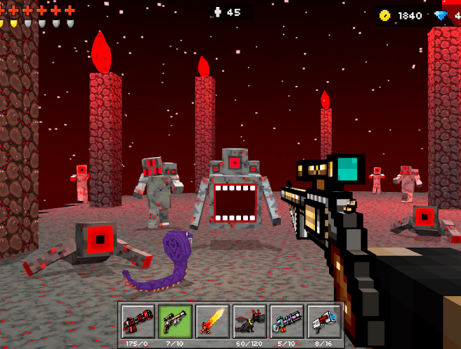 Play Pixel Gun 3D on PC 14