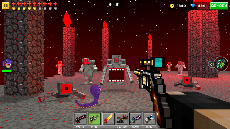 descargar pixel gun 3d para bluestacks