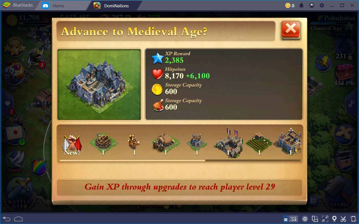 DomiNations: Guide to the Classical and Medieval Ages