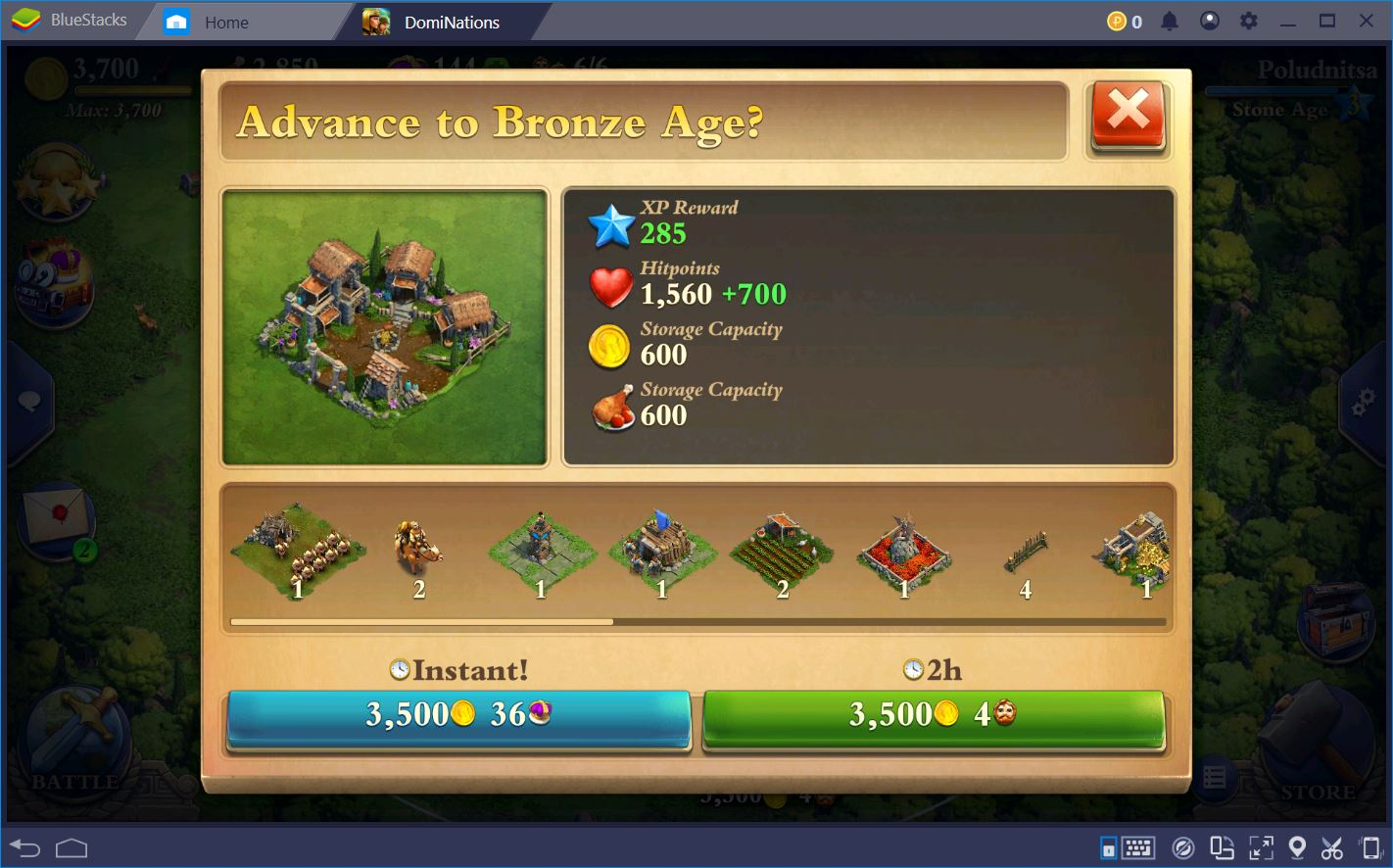 DomiNations: A Guide to the Early Ages