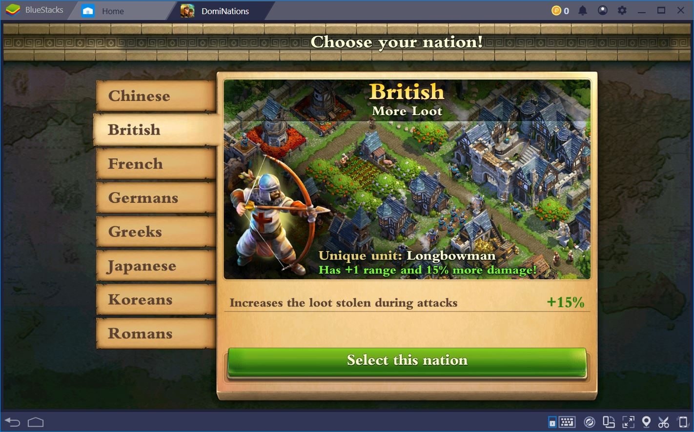 DomiNations: The Best World Nations