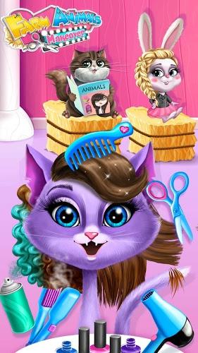 Play Farm Animals Makeover – Cute Virtual Pet Salon on PC 3