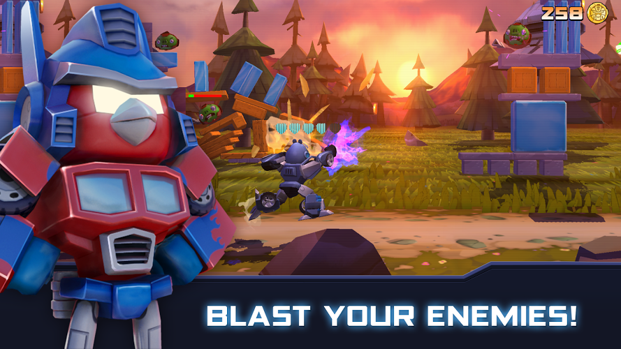Download Angry Birds Transformers on PC with BlueStacks