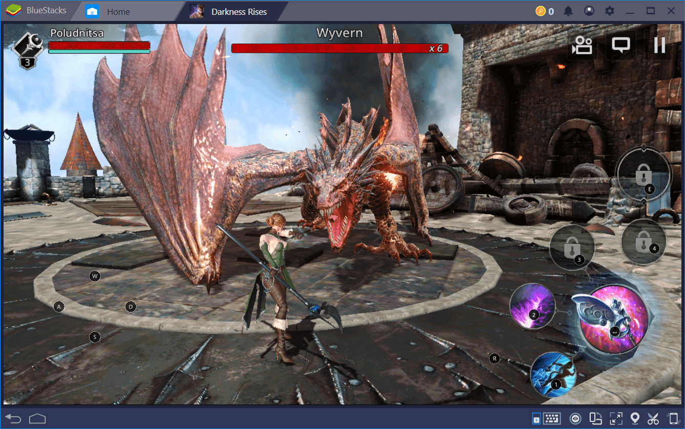 Darkness Rises: Better with BlueStacks