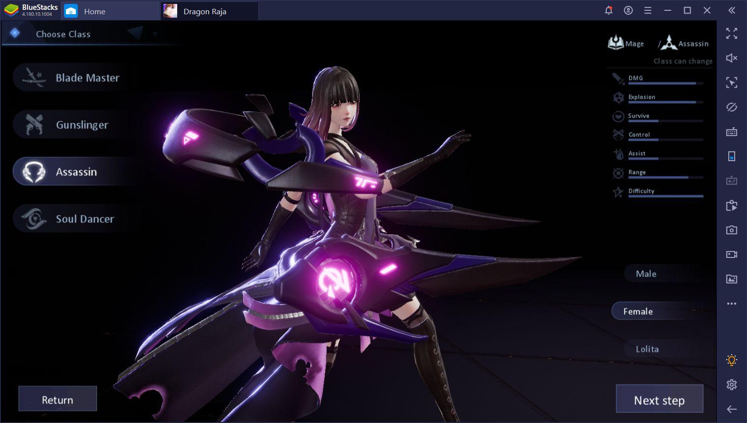 Guide du Débutant pour Dragon Raja sur PC avec BlueStacks