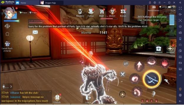 Dragon Raja. Как увеличить боевую мощь своего персонажа?