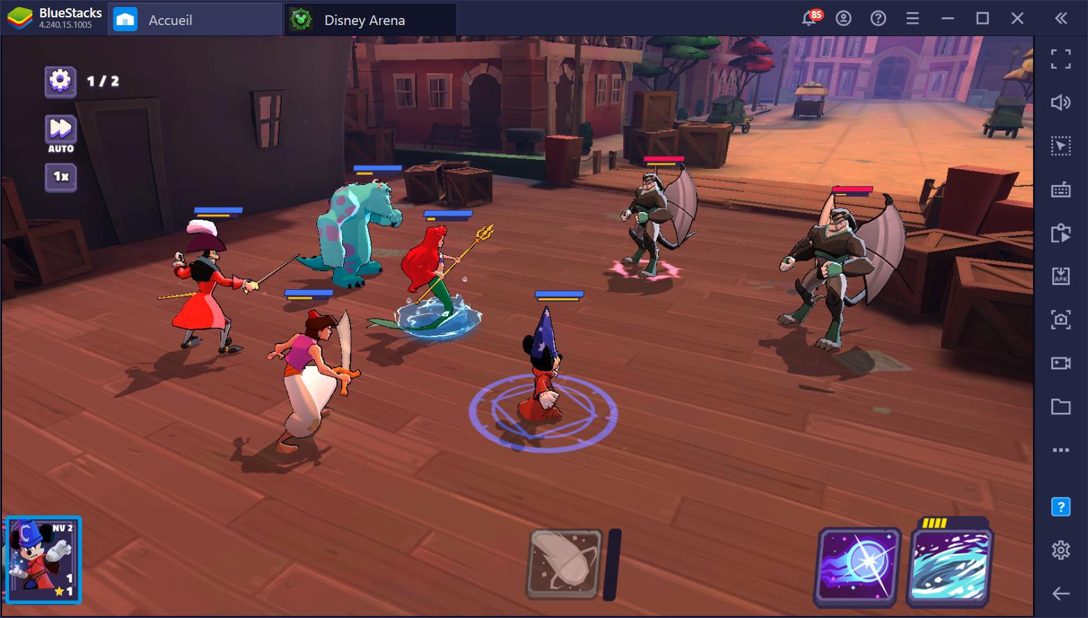 Introduction à Disney Sorcerer's Arena sur PC